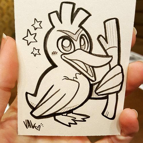 #083 - Farfetch'd - Pokemon Art Card