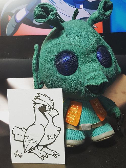#016 - Pidgey - Pokemon Art Card