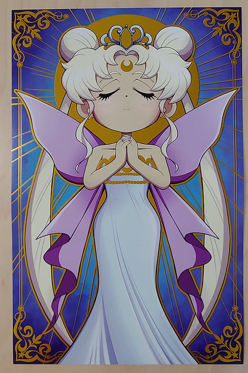 Gold Foil - Neo Queen Serenity - Large Print