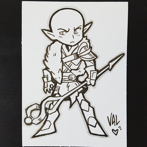 Solas - Daily Doodle