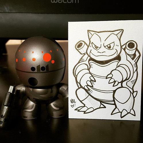 #009 - Blastoise - Pokemon Art Card