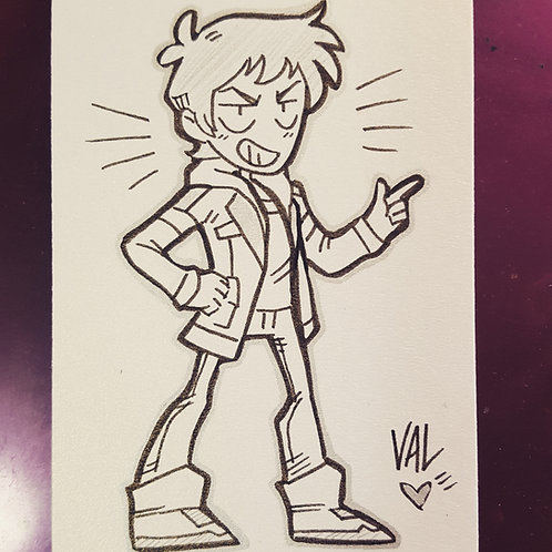 Lance - Daily Doodle