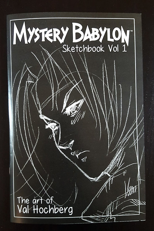 Mystery Babylon - Sketchbook Vol 1