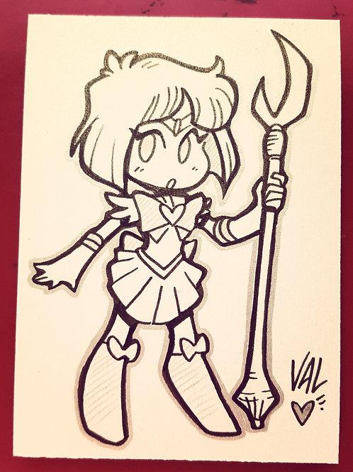 Sailor Saturn - Daily Doodle