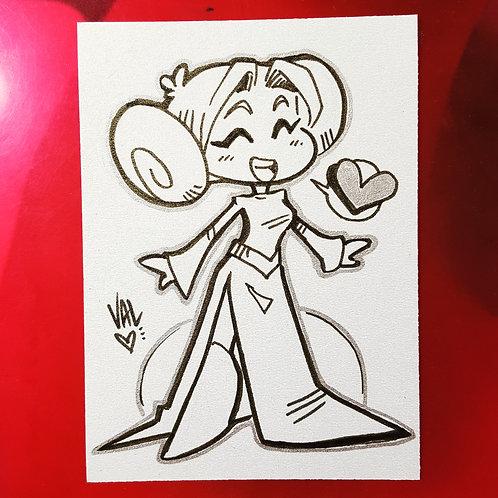Leia - Daily Doodle