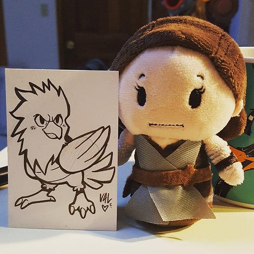 #021 - Spearow - Pokemon Art Card