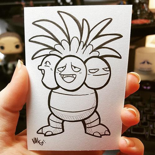 #103 - Exeggutor - Pokemon Art Card