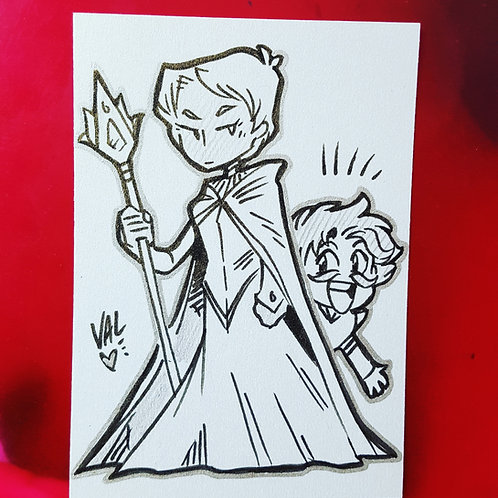 Lucretia and Davenport - Daily Doodle