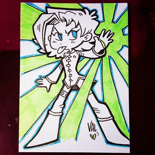 Inquisitor Kick Girl - Daily Doodle