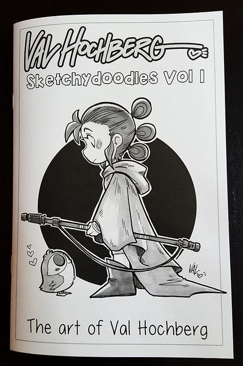 Val Hochberg - Sketchydoodles Vol 1