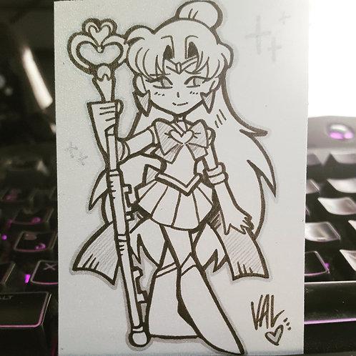 Sailor Pluto - Daily Doodle
