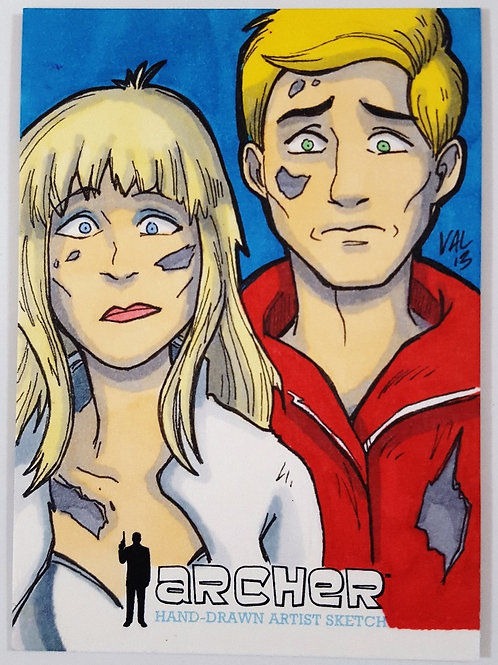 Katya & Barry - Archer Artist Proof