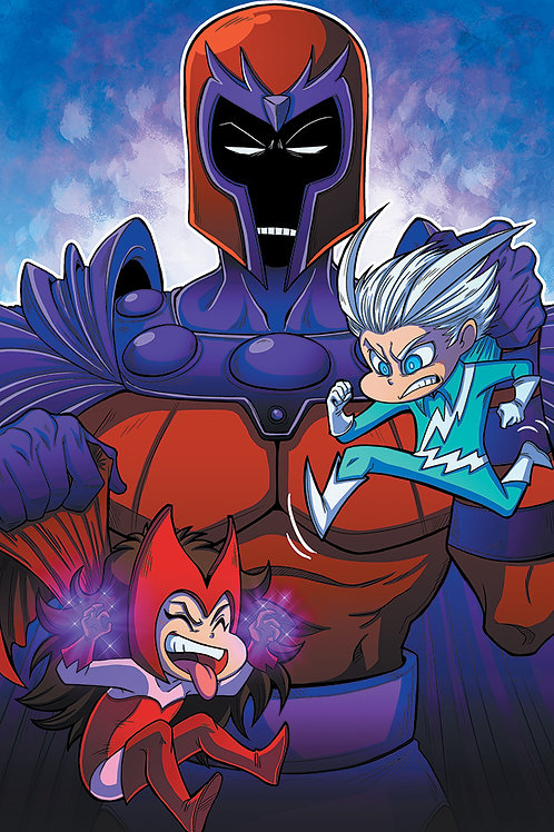 Magneto & Twins - Large Print