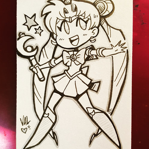 Sailor Moon - Daily Doodle