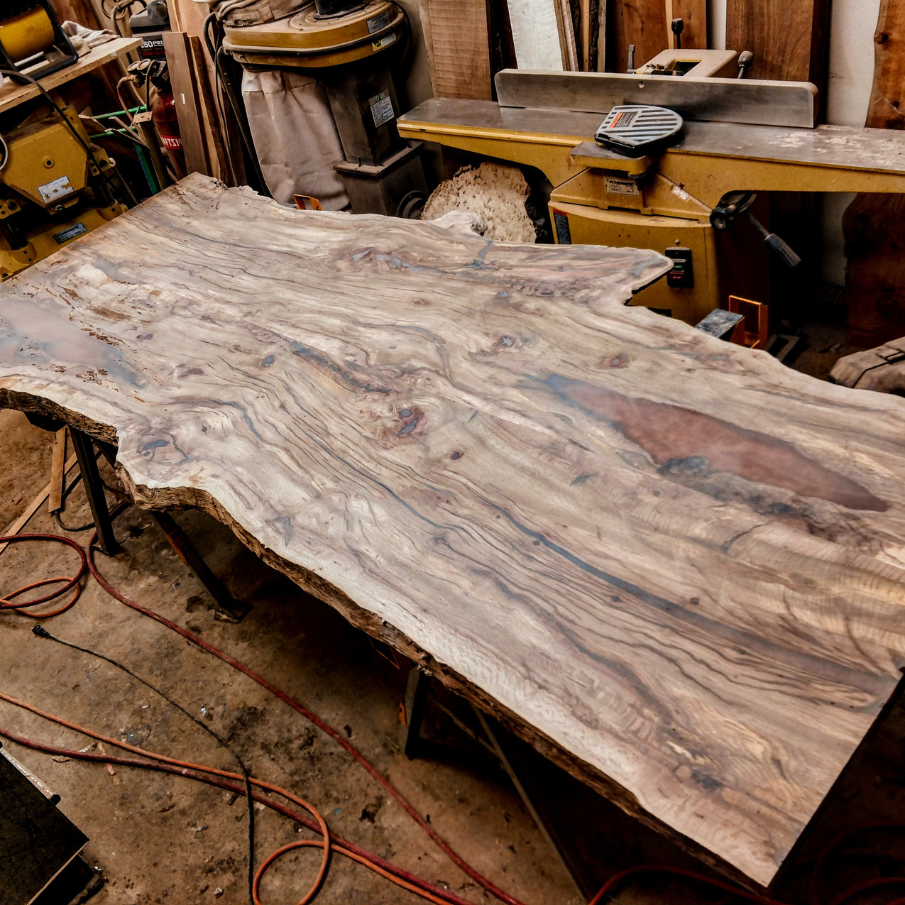 Arizona Black Cherry bookmatched slabs from Cottonwood