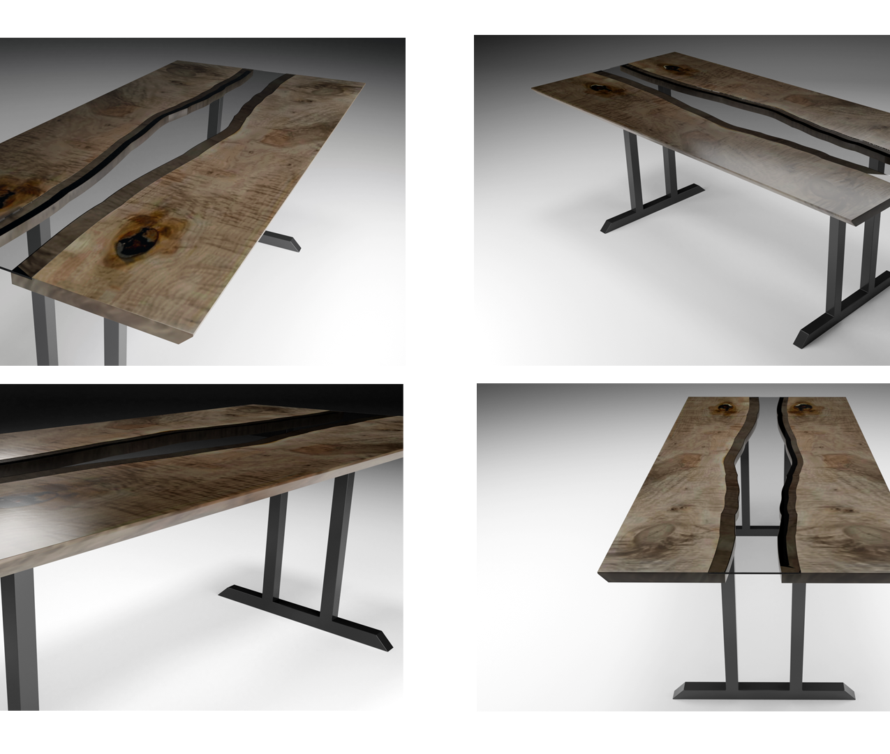 River table rendering by Richard Engstrom