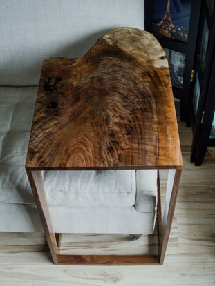 Walnut Live Edge Couch Table