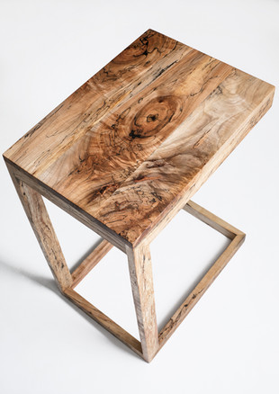 Spalted Maple Miter Frame C-Table