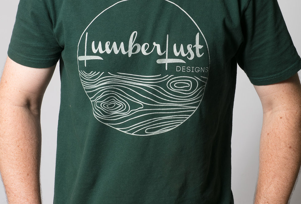 Lumberlust Green Mens Tee