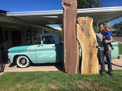 Big wood haul, Walnut and Pistachio