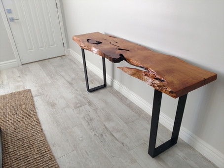 Alligator Juniper Live Edge Console