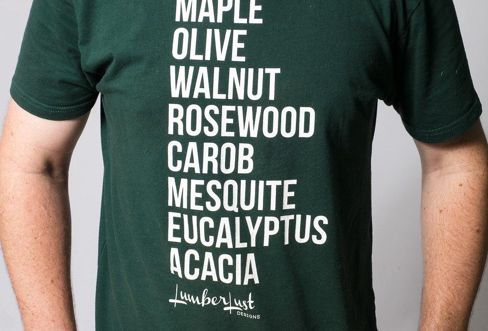 Favorites Hardwood List Mens Tee