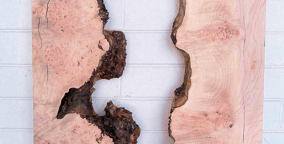 Big Leaf Maple Burl River Set #2 31x25x2.75