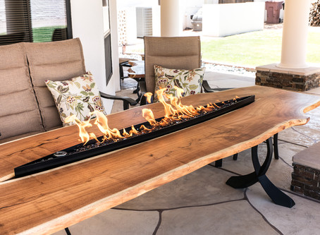 Mesquite Furniture Set, from Tree to Table