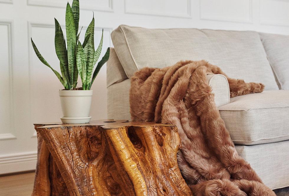 Arizona Olive Wood Large Stump Coffee Table