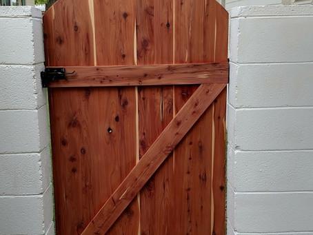 Red Cedar Barndoor Gates