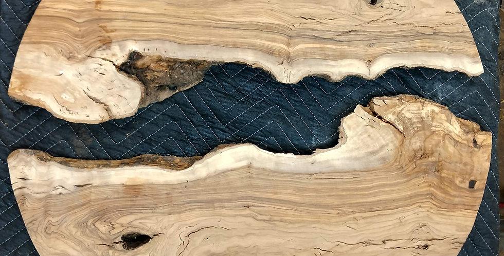 Olive Wood Live Edge River-Set - For Custom Orders