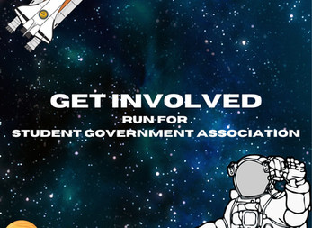 Student Government Applications Due Friday 9/25/2020