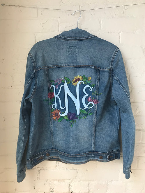 Monogrammed Jacket