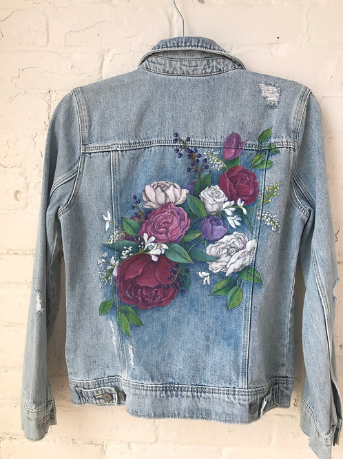 Pink/Purple Flower Jacket