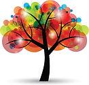 creative_colorful_tree_design_elements_v