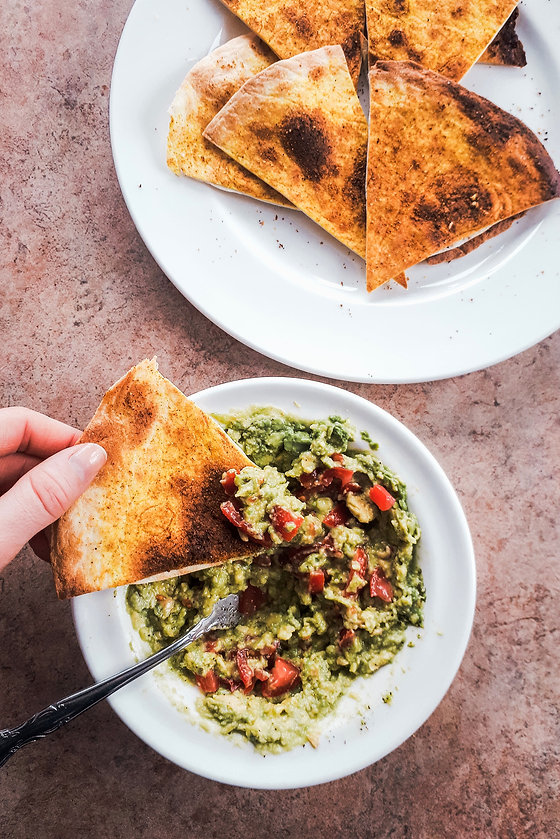 Photo ''Guacamole et chips de tortilla''