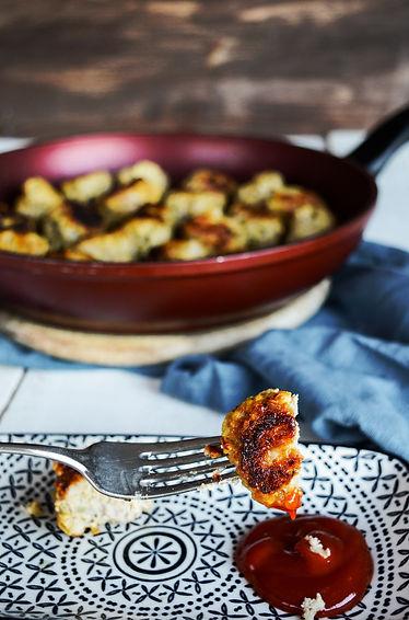 Photo ''Boulette de viande, tofu et basi