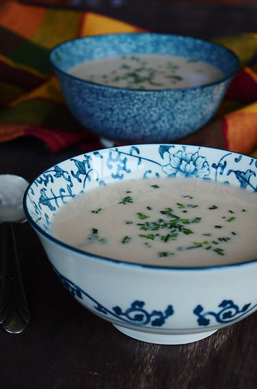 Photo ''Potage aux patates, pommes & che