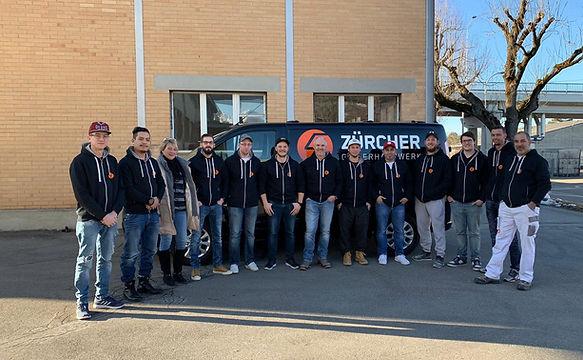 Team Zürcher Gipserhandwerk Thun