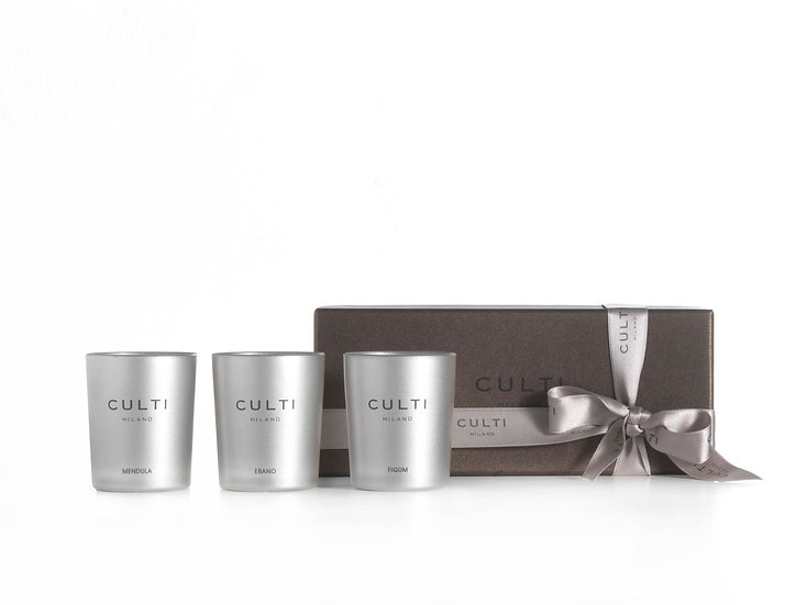 GIFT BOX CANDELE Fiqum, Gelsomino & Mendula