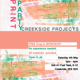 Print Party at Creekside Artists