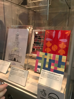 Work of St Mungos Clients on exhibiton in London Transport Museum