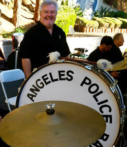 Percussionist Steve Pemberton