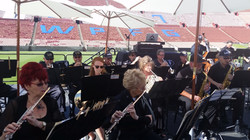 The LAPD Concert Band at the
