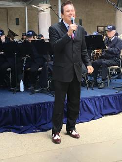 Vocalist LAPD Ret. Sgt. Jim Starr
