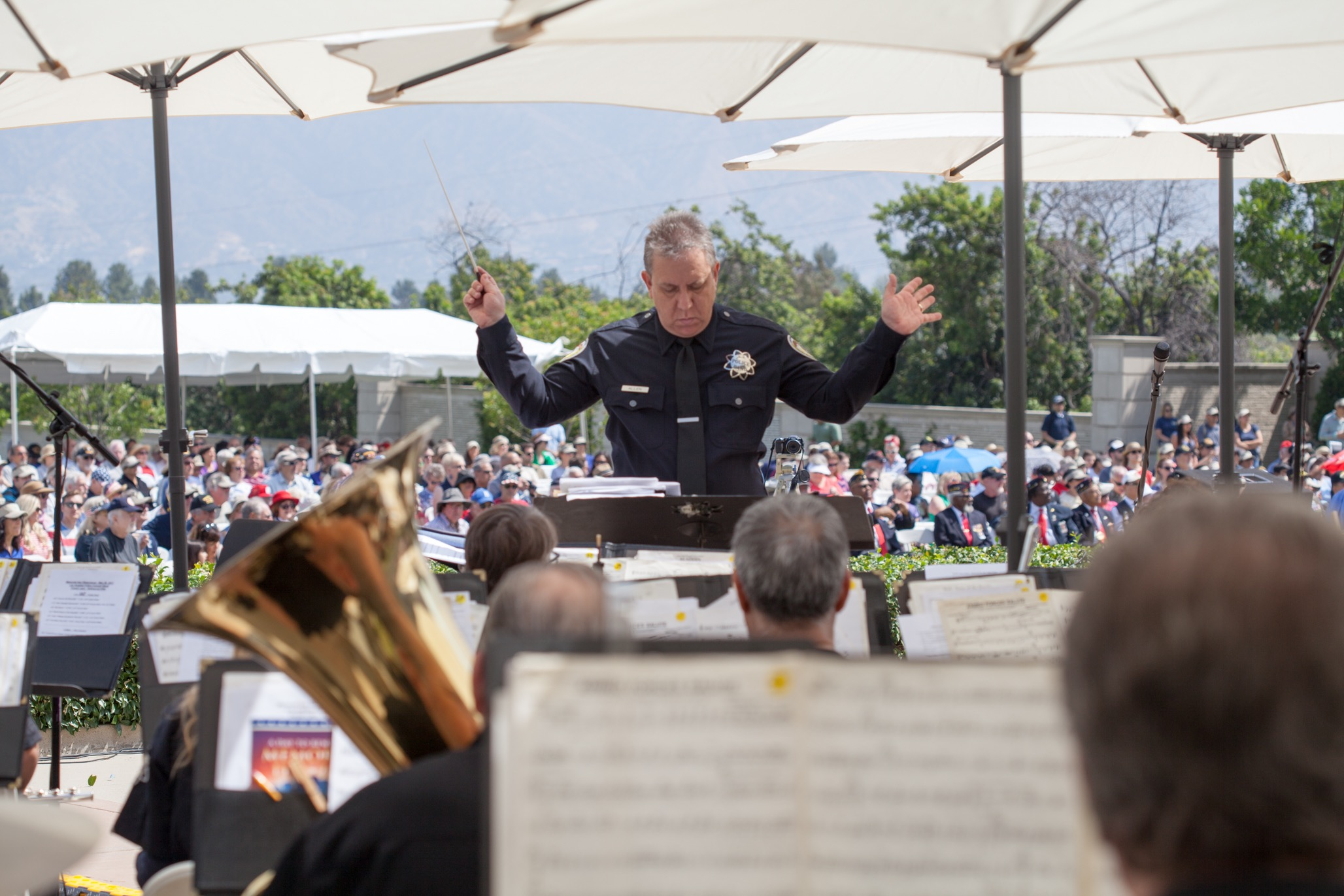 Maestro at 2018 Memorial Day Concert