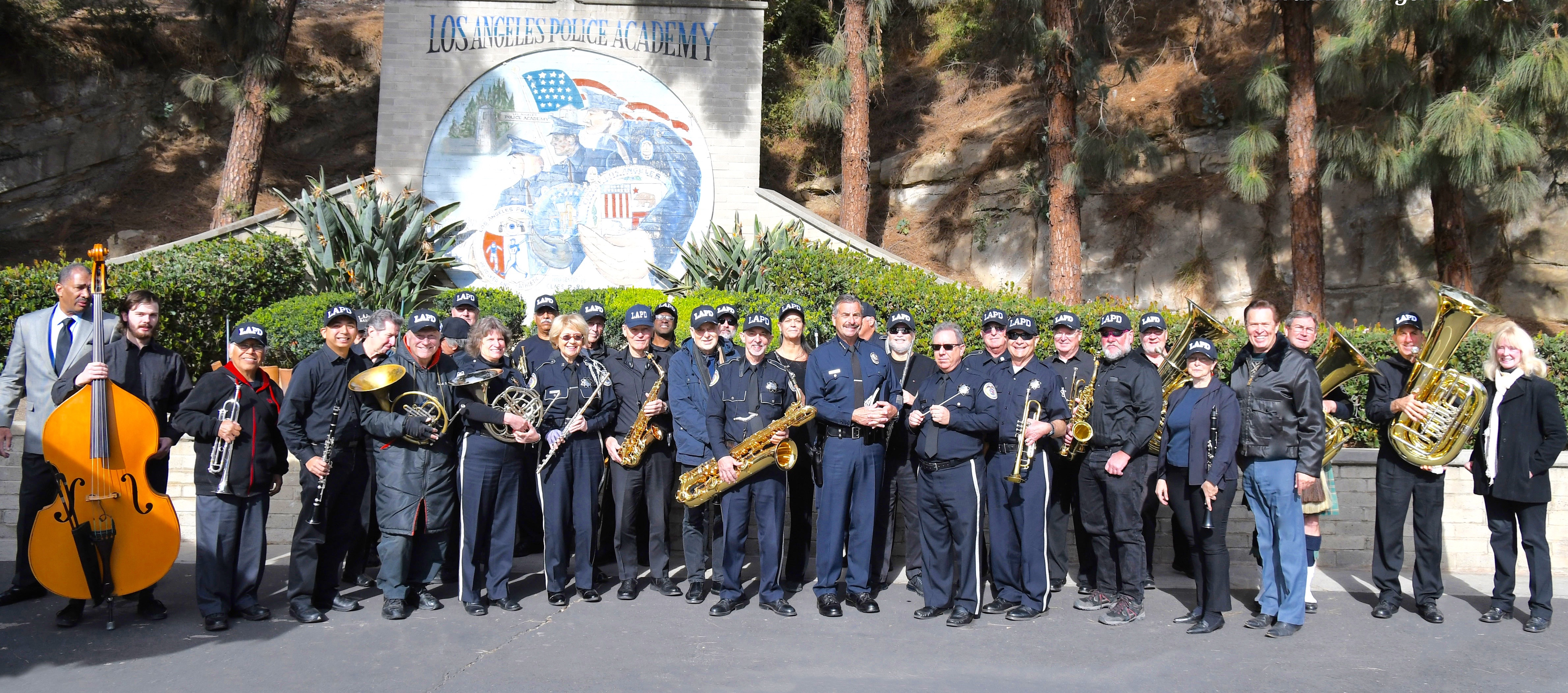 The LAPD Concert Band