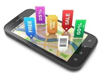 Mobile marketing - using GPS tracking to target customers in your location