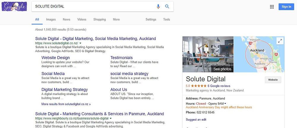 Google AdWords, SEO, Facebook Marketing