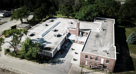 Bird's Eye View of Small Arms Inspection Building